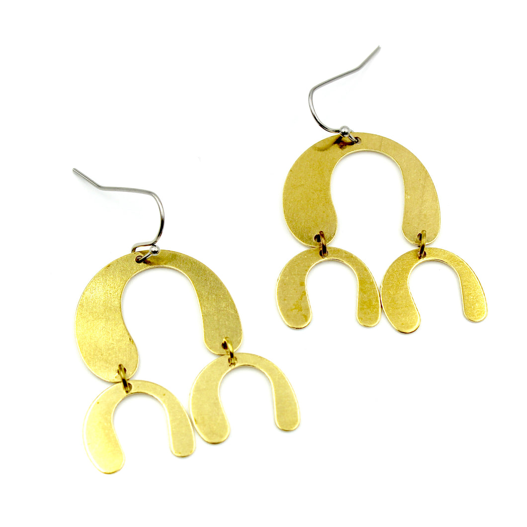 Droplet Chandelier Earrings