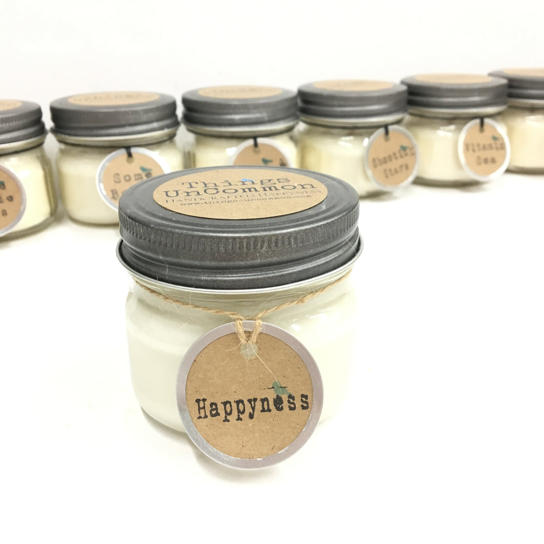 Apothecary Candle - Happyness