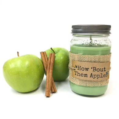 How 'Bout Them Apples Candle