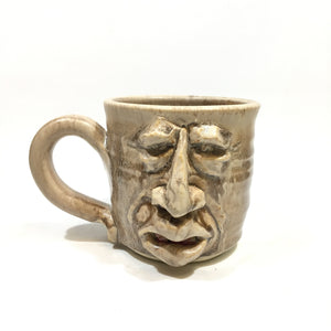 Face Mug - smile/teeth
