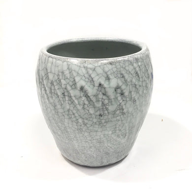 Vase - lavender, crackle