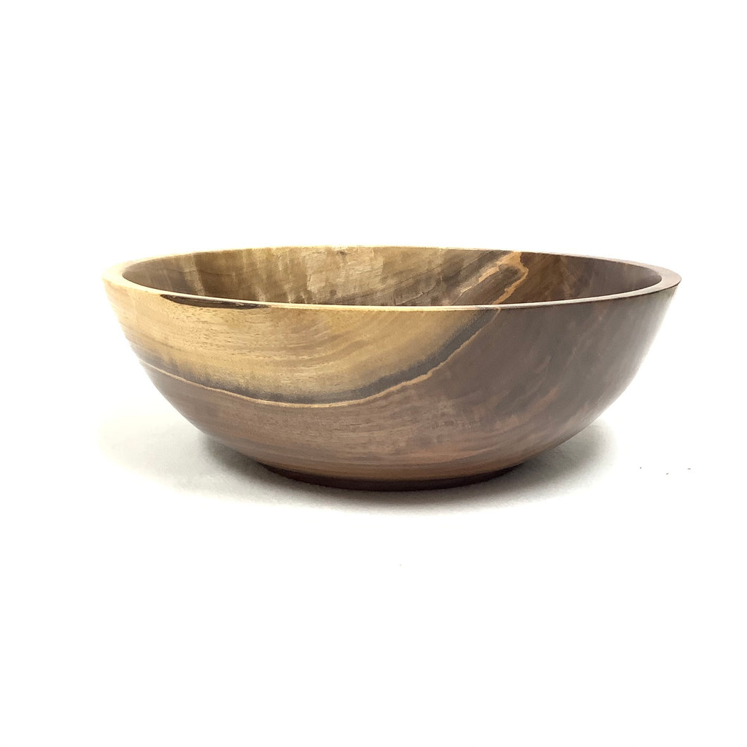 #168-Walnut bowl