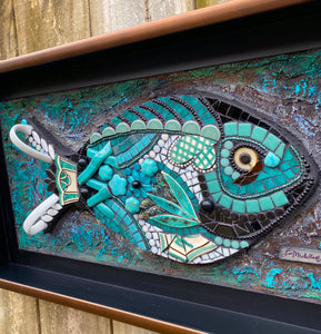 Friday Fish Mosaic