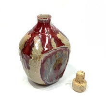 Bottle - Red and Brown
