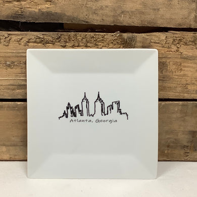 Atlanta Skyline - Large Plate