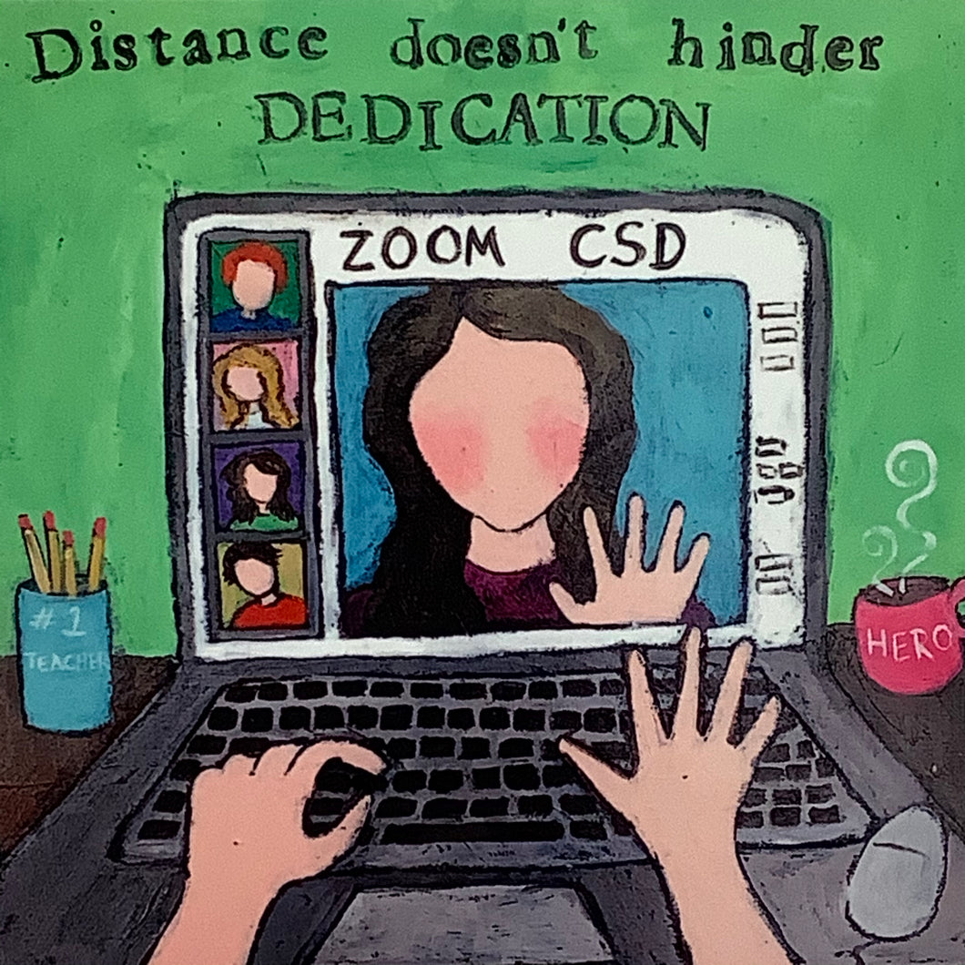 Zoom - Distance Doesn't Hinder Dedication