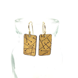 Kumboo Earrings - Dot & Lines