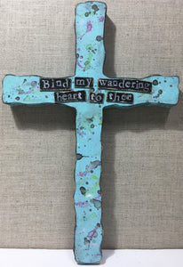 "Blue Cross ""Bind my wandering heart to thee"""