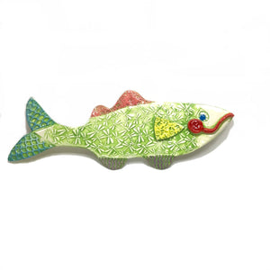 Ceramic Fish - Green