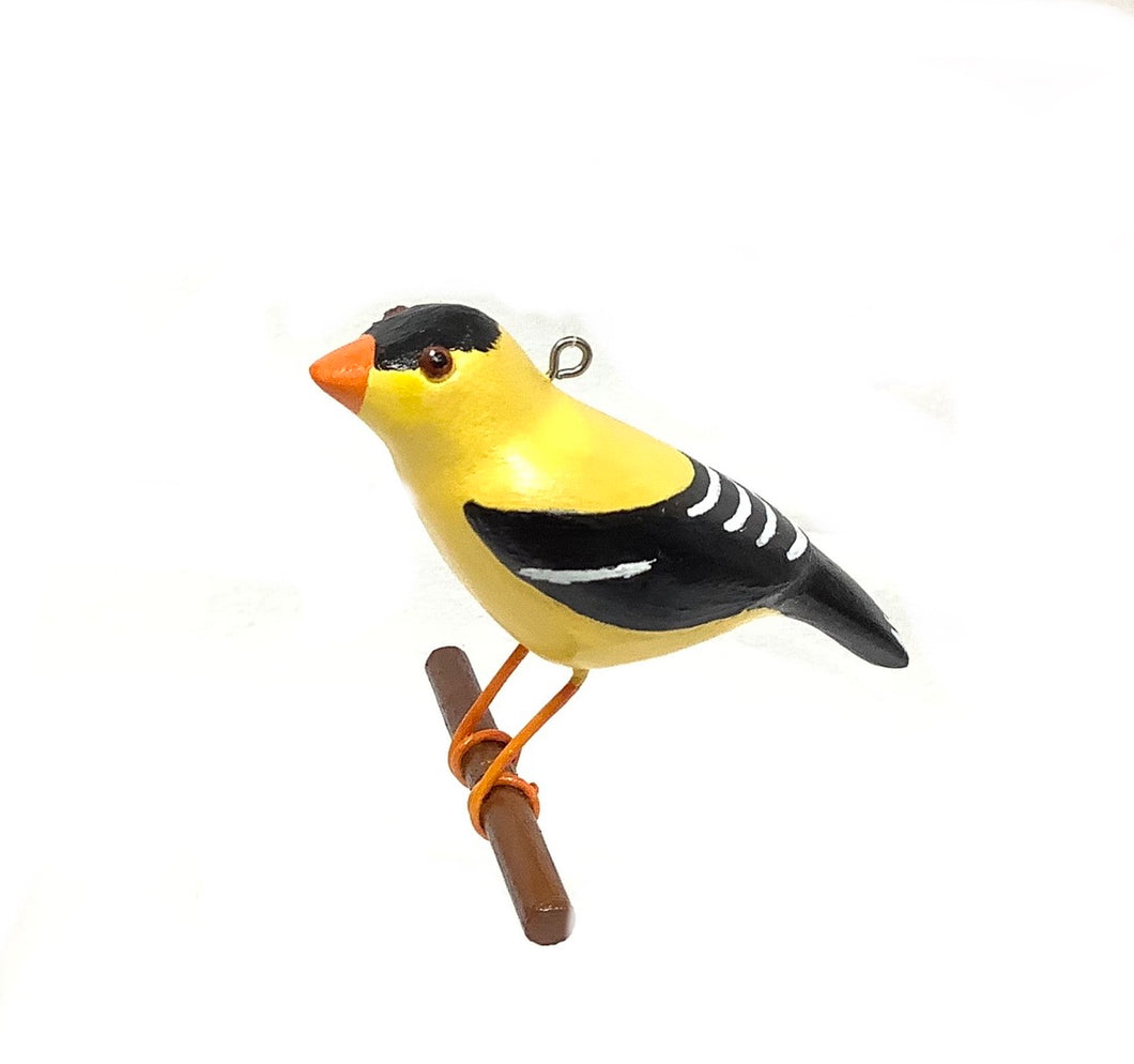 Gold Finch Ornament