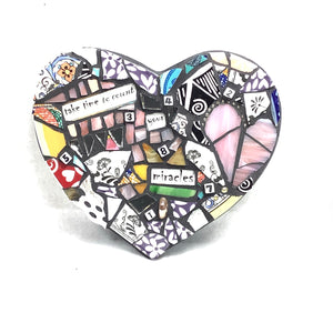 'Miracles' - Heart Mosaic