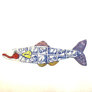 Ceramic Fish - Elvis