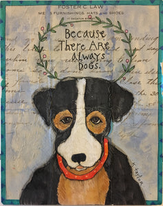 Envelope Art - Always Dogs