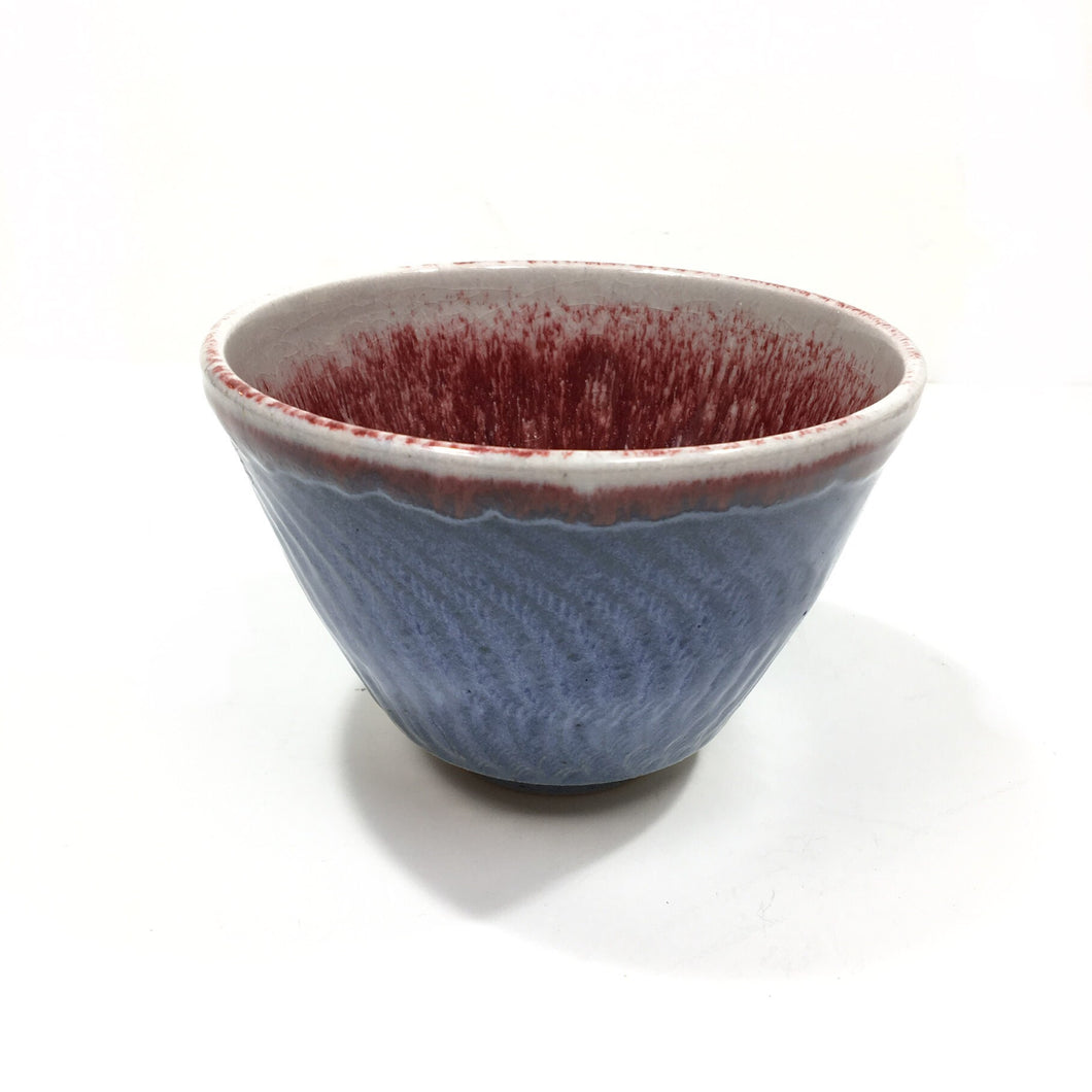 Bowl - red & blue