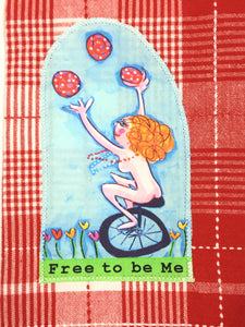 Claire Tea Towel #88