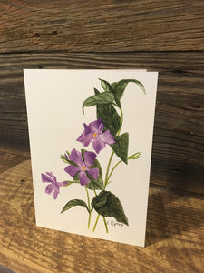 Periwinkle Watercolor Card