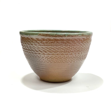 Bowl - Brown and Green