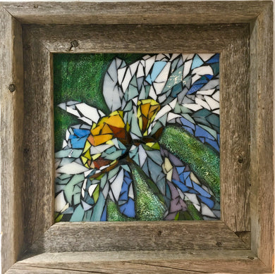 Daisy in Frame Mosaic