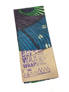 Bees Wax Wraps, Multipack, 3 - 12""