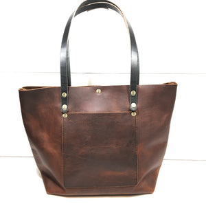Large Kodiak Leather Tote