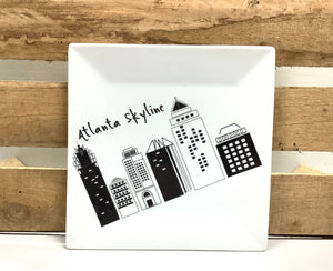 Atlanta Skyline Small Plate
