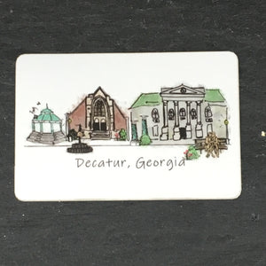 Decatur City Sticker