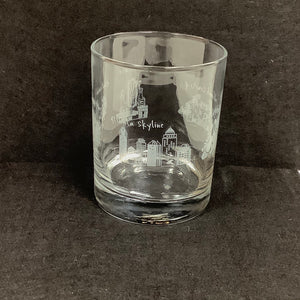 Georgia Landmark Highball Glasses