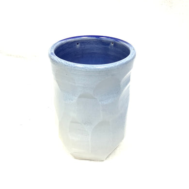 Cup blue, white