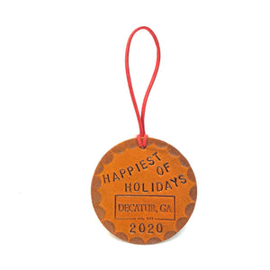 Happiest of Holidays Christmas Ornament