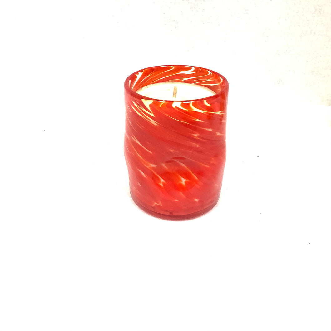 Blown Glass Candle