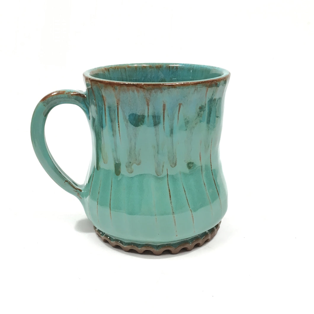 Green Ceramic Mug - large