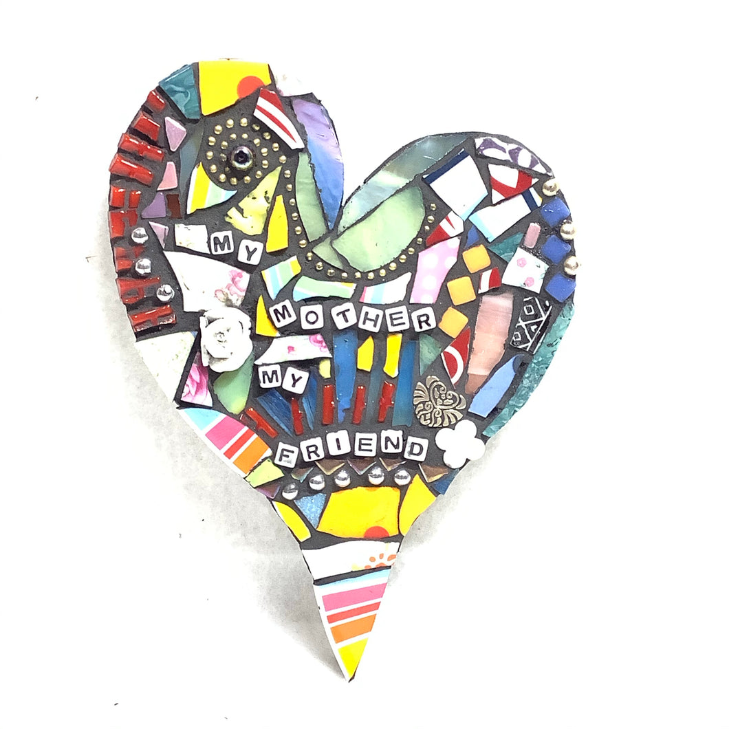 'My Mother' - Heart Mosaic