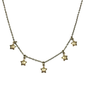 Sprinkle Necklace - Brass Star