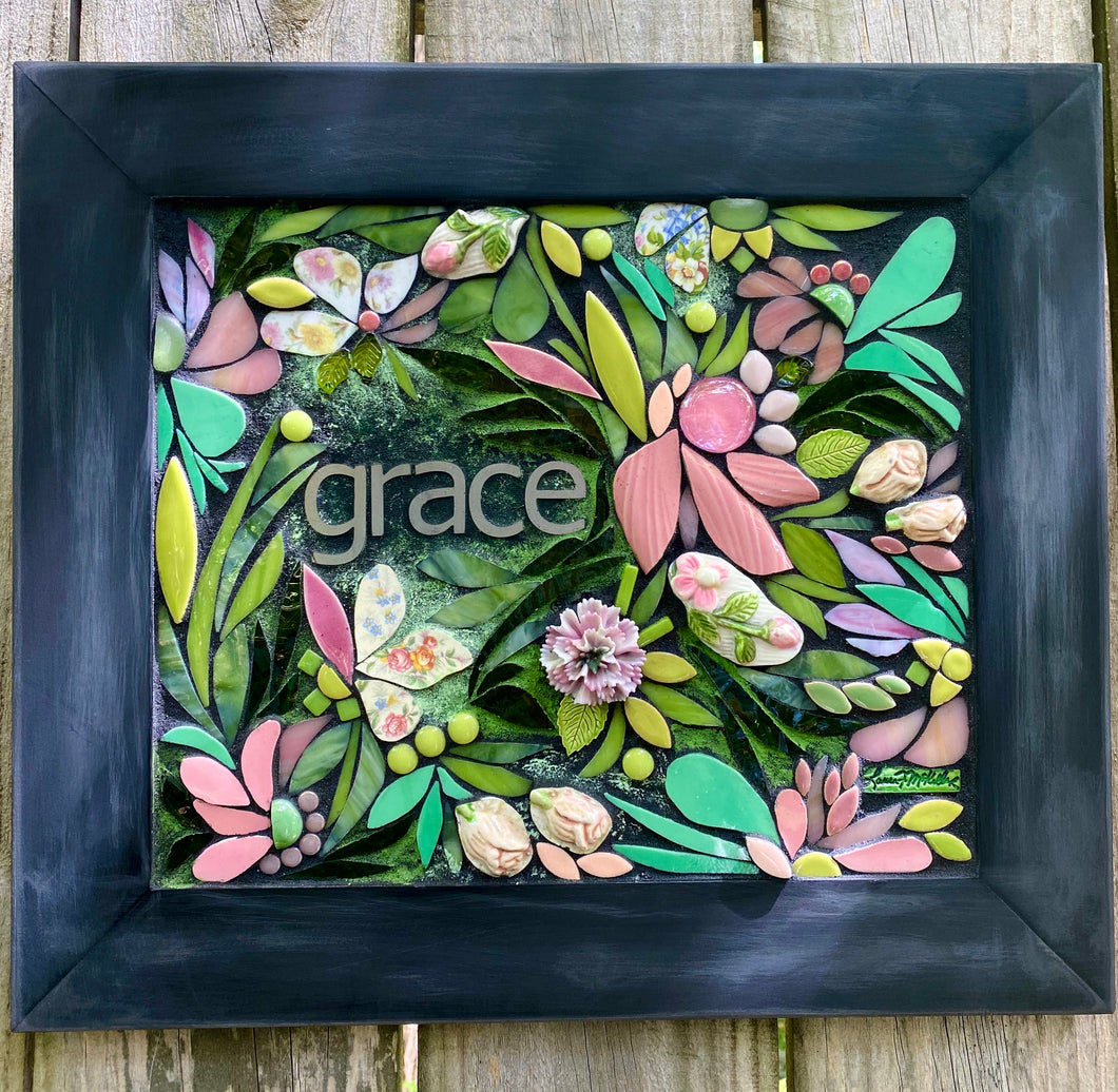 Grace in Bloom Mosaic