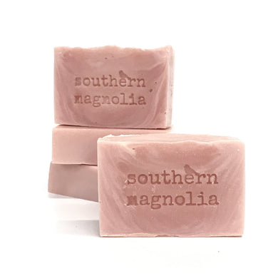 Southern Magnolia handcrafted soap