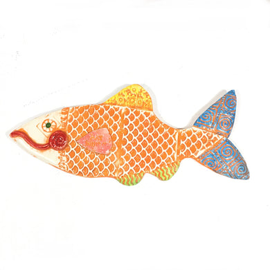 Ceramic Fish - orange