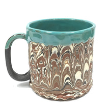 Ceramic Marbeled Mug large