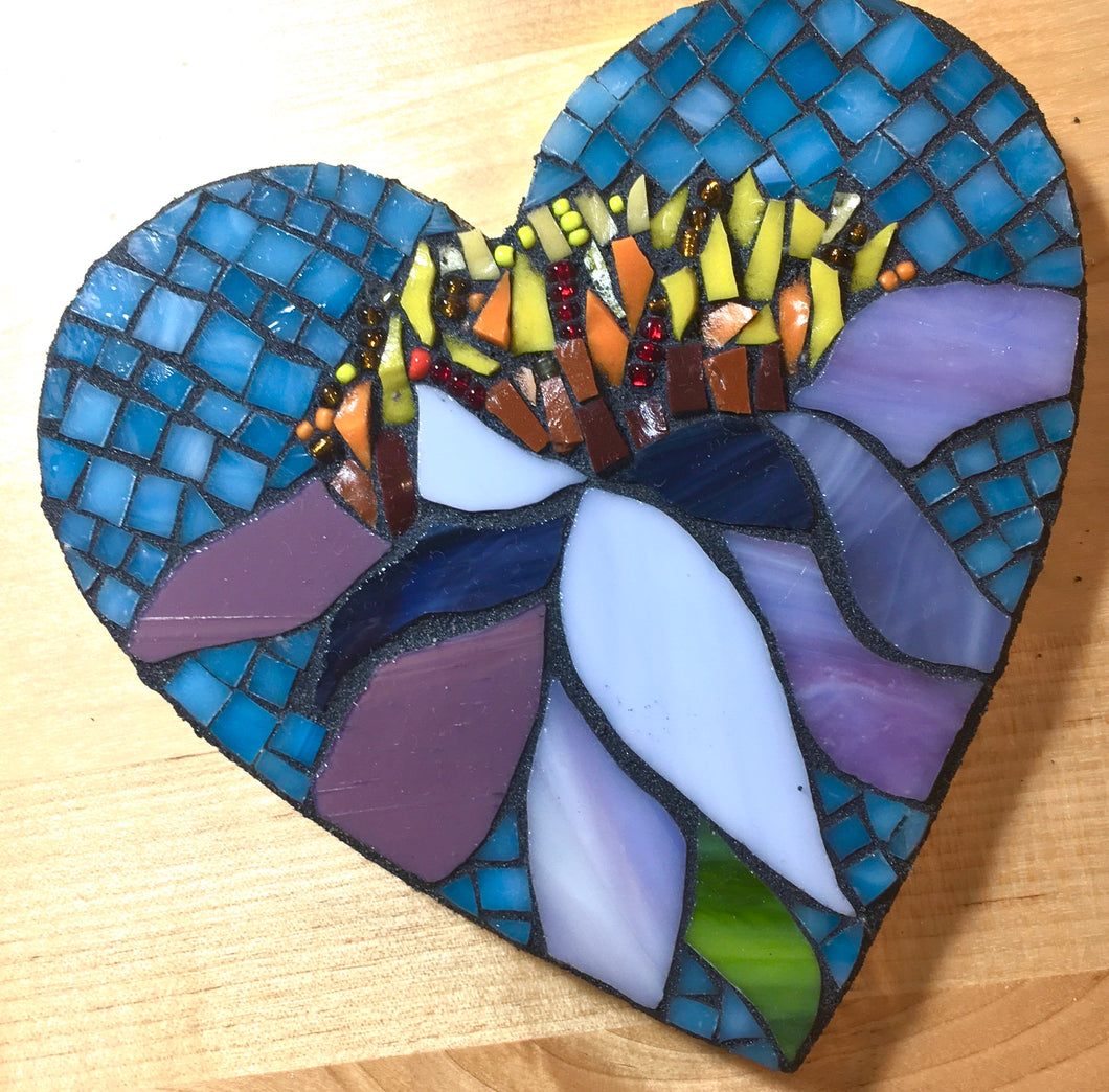 Small Heart Mosaic