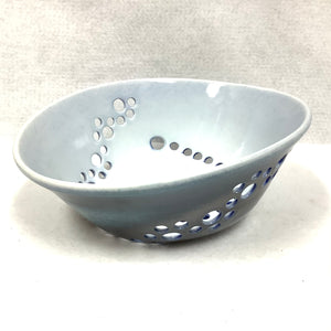 Berry Bowl - blue and white