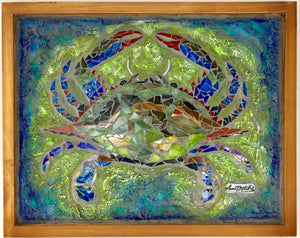 Blue Crab Mosaic