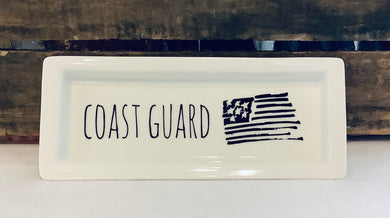 Military Branches Rectangle Tray