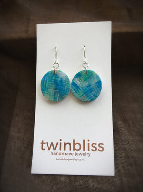 Earth & Sky Artisan Jewelry - Abstract Circle Earrings