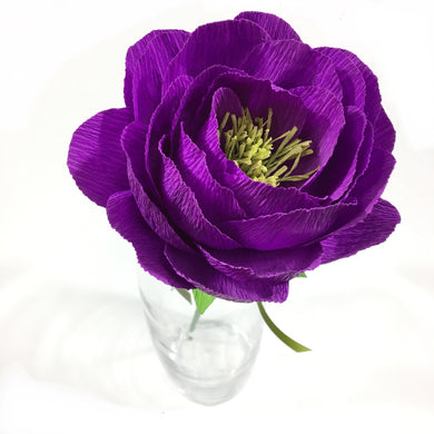 Solid Purple Flower