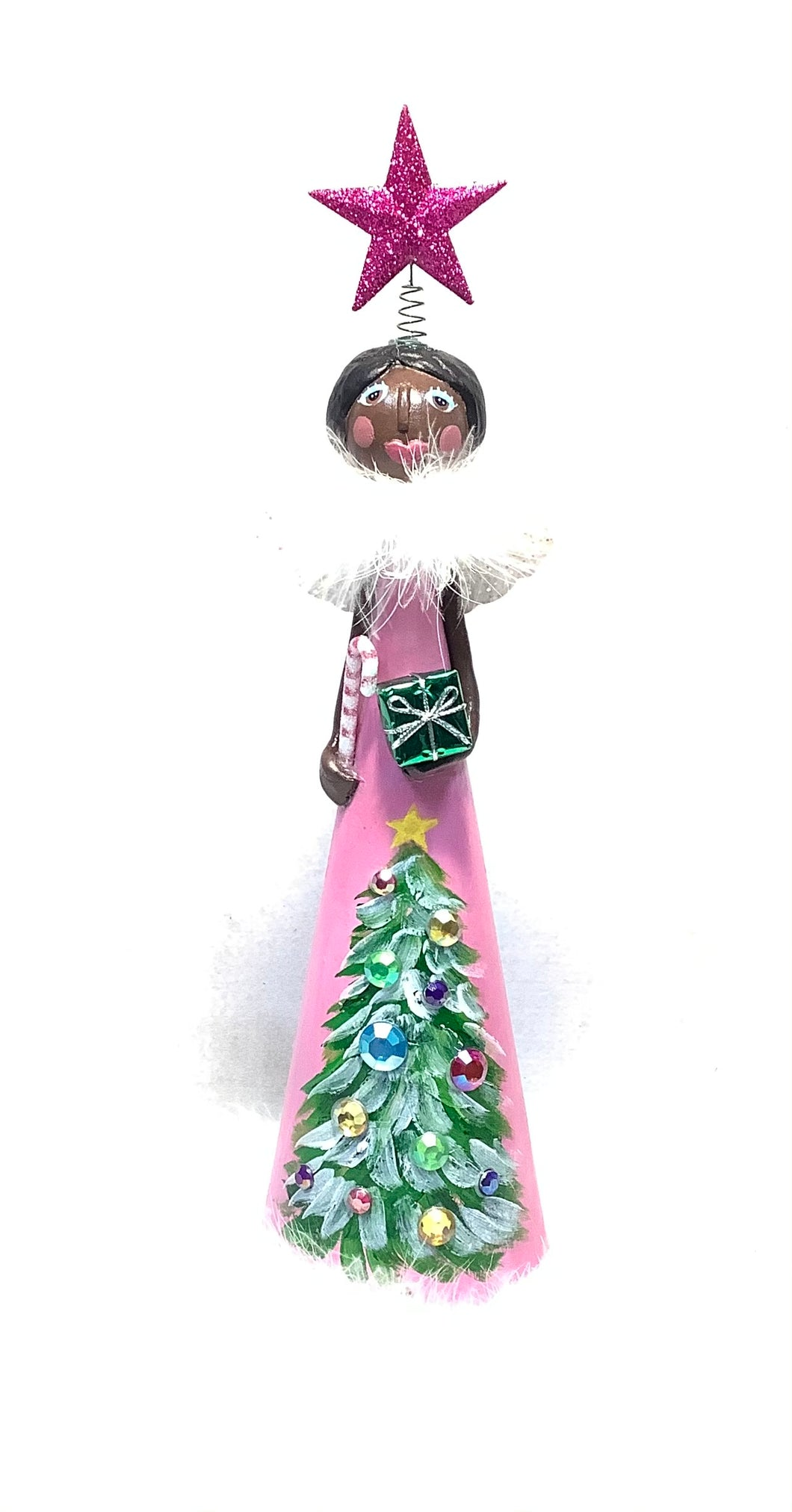 Mary Pink Tree Topper