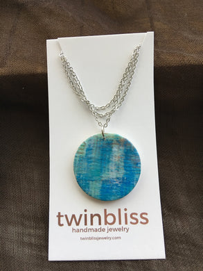 Earth & Sky Artisan Jewelry - Abstract Large Circle Necklace