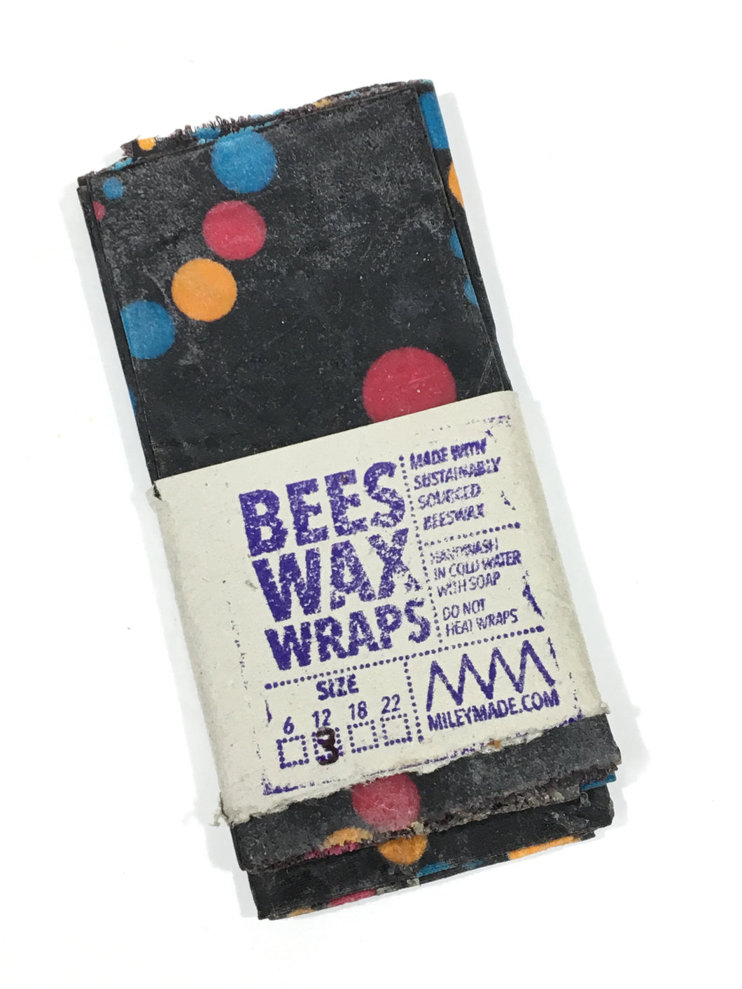 Bees Wax Wraps, Multipack, 3 - 12