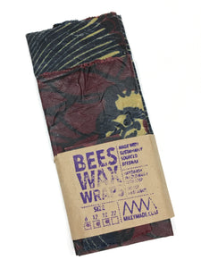 "Bees Wax Wraps, Multipack, 6"", 12"" 18"""