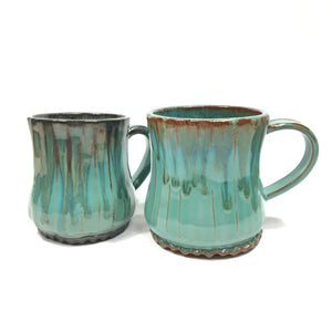 Green Ceramic Mug - small