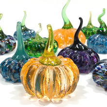 Blown Glass Pumpkin - size 1