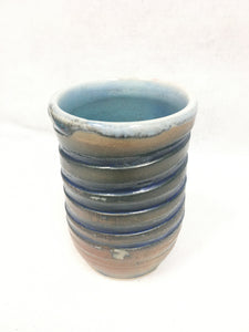 Cup - blue and brown